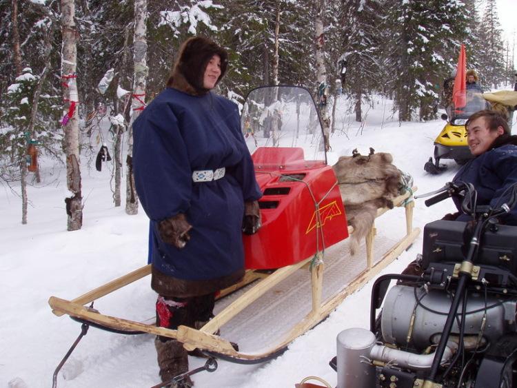 Как сделать деревянные сани для снегохода