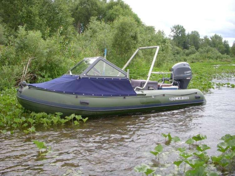 экспедиционная лодка солар