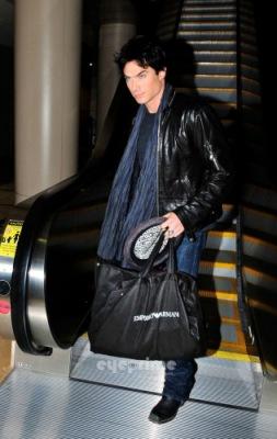 Йен в аэропорту LAX [10 января]