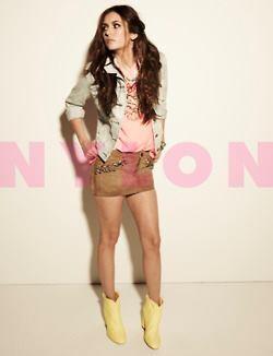 Интервью Нины для NYLON: «Хочу быть панком, возлюбленной или наркоманкой!» + новые фото из фотосессии