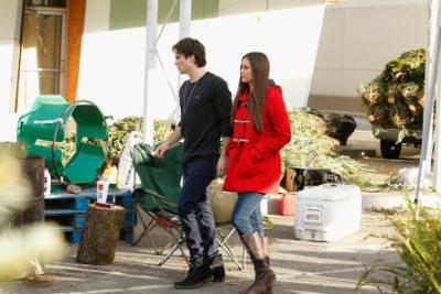 Йен и Нина выбирают ёлку в Атланте [3 декабря]