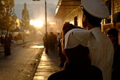Фото со съемок 4.08 - «И на нашей улице будет праздник»