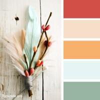 色彩源于自然 - 钩针姐姐 - 钩花博客钩针图解crochet blog