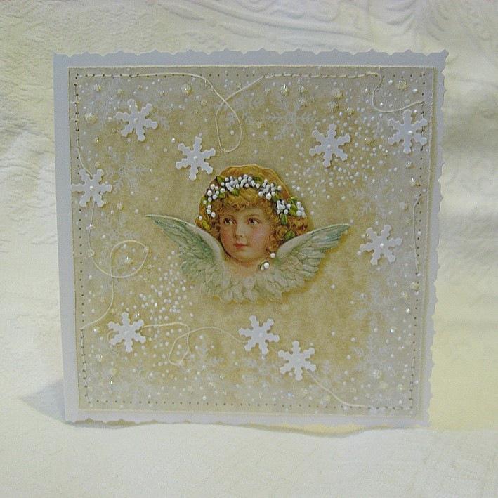 Как сделать открытку на рождество христово своими
