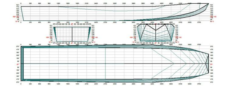 проект и чертеж лодки джонбот из фанеры
