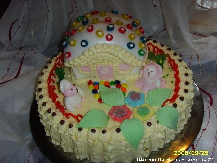 Тортики для детей рецепты
