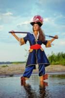 Фотосессии в образах пиратов, моряков и ковбоев.