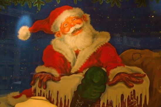 Рождество в Нью-Йорке. Санта-Клаус.