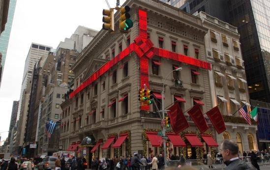 Рождество в Нью-Йорке.  Домик в подарок.