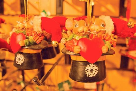 Рождество в Нью-Йорке. Рождественский базар.