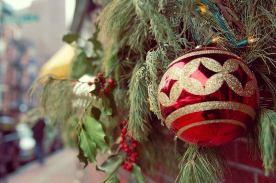 Рождество в Нью-Йорке.
