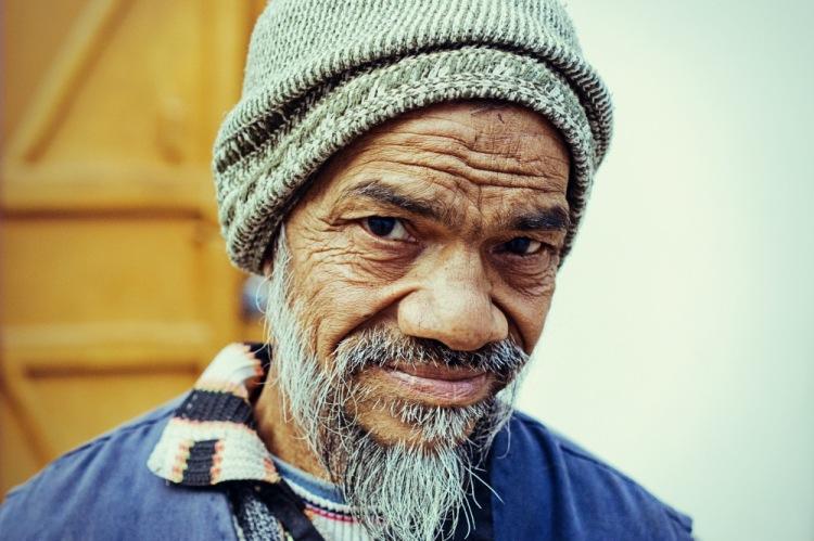 У пожилых людей в Индии часто очень проницательный взгляд...
