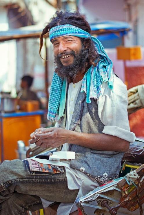 Индия, Варанаси. А вот кому рикшу-растамана?!
