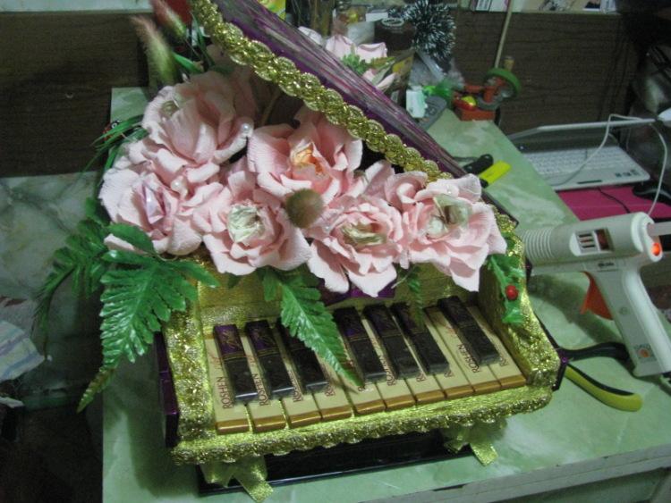 Пианино своими руками фото
