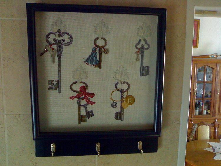 Прикладная вышивка: Ключницы
