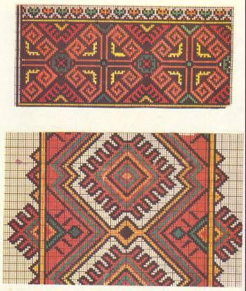 вышивки крестиком логотипа версаче