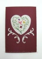 Паспарту для открыток с вышивкой