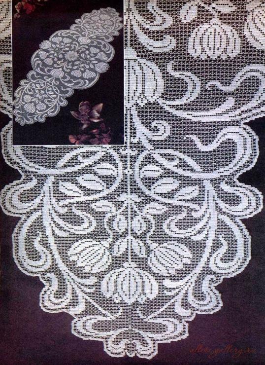 Филейное вязание для занавесок, салфетки и как идеи рисунка. свой цитатник или сообщество!  Часть 1. Часть 2. http...