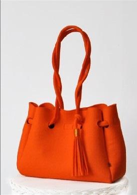 Gallery.ru / Женская сумка из фетра BETTA S (с подкладкой) - Красивая женская сумка из фетра BETTA S (с подкладкой