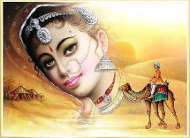 В индии женщине отведено особое место и особое положение.  Она не просто почитаема как мать и хранительница очага...