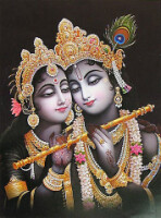 Индия - картины на тему Бхагавата Пураны (66 работ) .