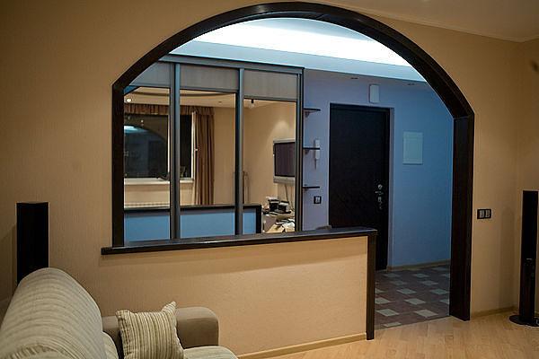 Арка в дизайне квартиры фото