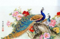 Китайская живопись - павлины (часть первая).  Записи по теме.