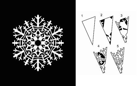 Картинки красивые снежинки своими руками