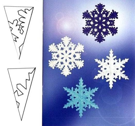 Как сделать снежинки своими руками к новому году