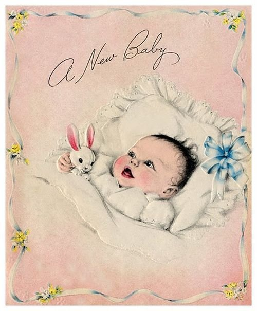 Картинки для открытки новорожденному 440