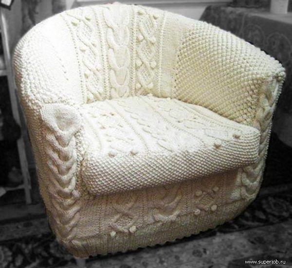 Чехлы на кресла своими руками фото