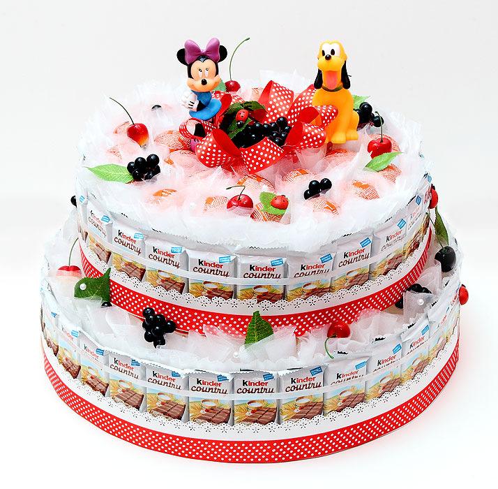 Торт из киндеров своими руками фото