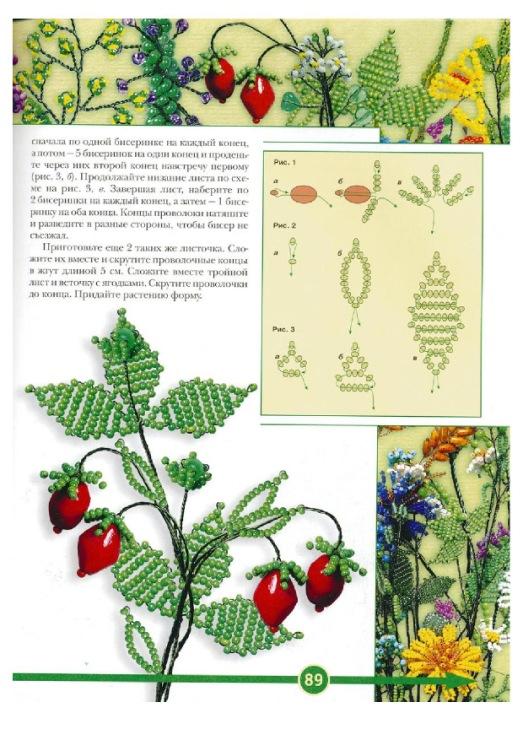 бисер схемы цветочки для начинающих - Интересные полезности.