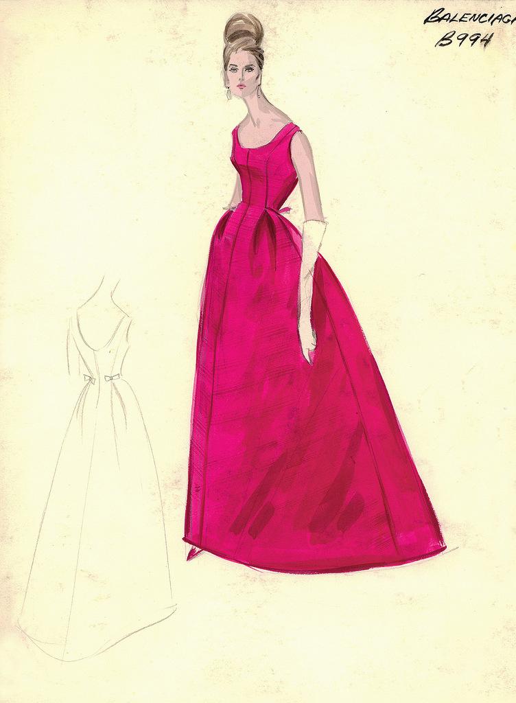 e120086e0d7 Bergdorf Goodman Archives эскизы вечерних и коктейльных платьев. Обсуждение  на LiveInternet - Российский Сервис Онлайн-Дневников