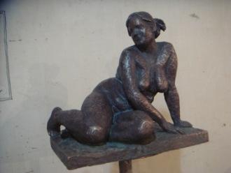 Скульптор Ольга Колосова -